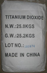 Двуокиси углерода Tatanium пигмент краски, резиновые