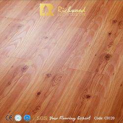 8.3Mm HDF parquet de madera de roble blanco resistente al agua, suelo laminado el laminado de madera