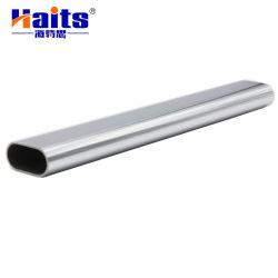 Hollow Metal Chrome Steel Wardrobe Oval Tube Voor Meubelaccessoires