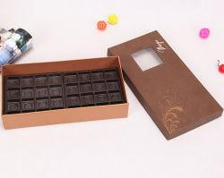 Коробка сахара бумажной доски Brown с подносом волдыря