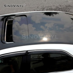 SINNOVINYL PVC 필름 카 보호용 비닐 쉬운 청소 루프 랩 포일 광택 자동 선루프 필름