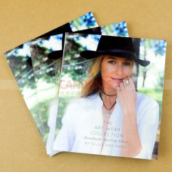 高品質カタログの印刷の小冊子の印刷のパンフレットの印刷