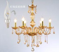 LED люстра лампа, светодиодная свеча лампу (3W E14/E12/E27)