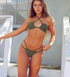 OEM/ODM Venta caliente mujeres Bikini Sexy traje de baño (002)