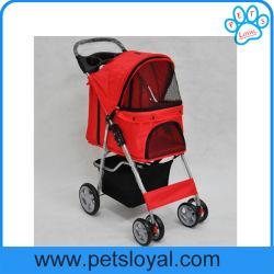 Fabricant de haute qualité chariot Pet Dog Poussette pliante
