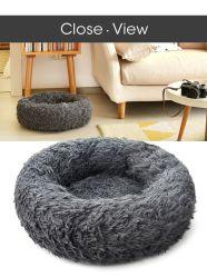 Round Cama Cão de pelúcia House cachorro quente no inverno Mat dormindo Gatos Nest muito macio Plush Dog Cesta Almofada Pet fontes animais de estimação portátil