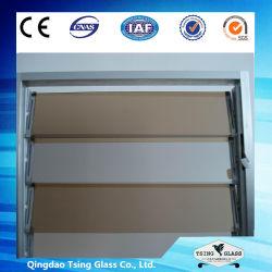 زجاج اللوفر برونزي 4-8 مم /شفاف /ملون مع جودة عالية و سعر تنافسي