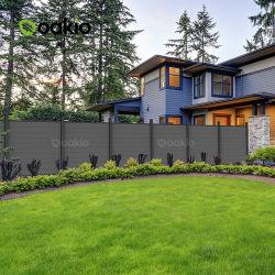 Hout uit het Insect Panel Hot Pravicy WPC Outdoor Plastic Samengestelde aluminium Fecning Garden Fence