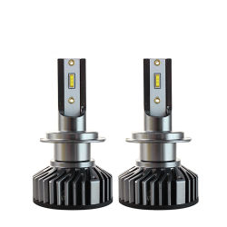 Hersteller CE RoHS 80W Auto LED Licht Scheinwerfer die externe Treiber H4 H7 H8 H9 H11 9005 HB3 9006 HB4 12V 24V 6500K Auto-LED-Glühlampe 8000lm
