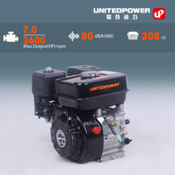 Up170 koelde de Professionele 7HP Lucht de Motor van de Benzine van de Hoge Efficiency
