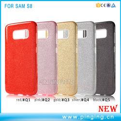 Cintilante Shell do telefone celular para a Samsung Galaxy S8/NT 8 Caso