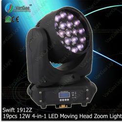 LED de luz da fase especial Vangaa19HP 12W Lavar Movinghead Zoom (Swift 1912Z)