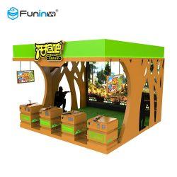 De hete het Ontspruiten Machine Multiplayer die van het Spel van de Arcade Game&#160 jagen; Simulatie in Pretpark