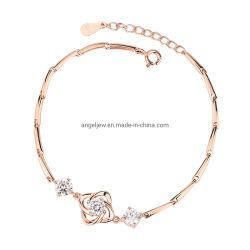 Mode de haute qualité 925 Sterling Silver Bracelet Set avec CZ Fashion Bracelet bijoux exquis Don