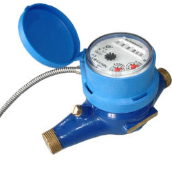 De Meter van het Koude/Hete Water van het Type van droog-Wijzerplaat van het lezen op afstand