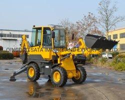 Wz15-10 retroexcavadora cargadora de ruedas con pala para la venta