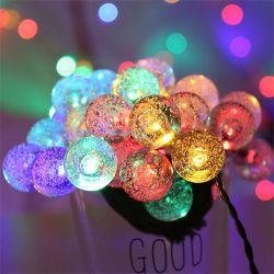 Лампа солнечной энергии 30 светодиодный светильник фестиваля String водонепроницаемый яркие лампы