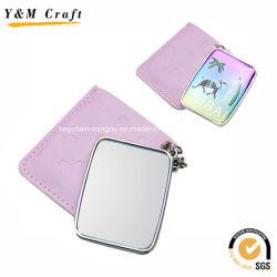 Personalizar el cuero compacto espejo para bolso YM1155