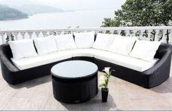 PE плетеной диван, мебель для использования вне помещений