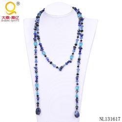 Kristallsteinschal-Halskette des heißen Verkaufs-2014