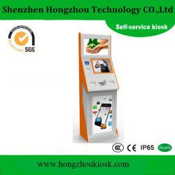 Self-service kiosque de Paiement Dépôt en espèces kiosque de l'imprimante thermique de la machine