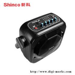 Altavoz sin hilos del Karaoke de la batería de Bluetooth de la marca de fábrica audio de la aptitud