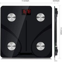 Escala de 180kg de Grasa Corporal IMC para la salud Personal Balanza de pesaje Digital