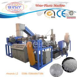 La Chine fournisseur double phase PP Film PE Compacteur granulateur plastique