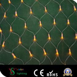 LED Net Lights für Weihnachtsdekoration im Park