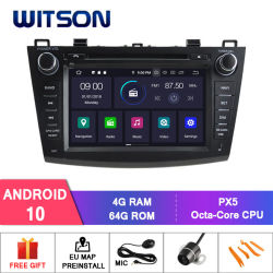 Mazda 3 2010-2011 Witson Android 10 Car DVD GPS Bluetooth OBD2 연결