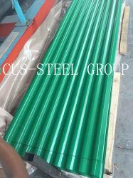 Гофрированное железо Prepainted пластины крыши/с полимерным покрытием металлического листа крыши