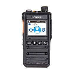 Walkie-talkie 4000mAh van Reapter van het Openbare Netwerk Lte/WCDMA/GSM/WiFi van Inrico T640A de Draadloze Radio Bidirectionele
