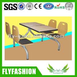 KFC & McDonald's의 현대적인 식당 테이블 및 의자(SF-89C)