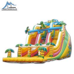 Castello di salto gonfiabile caldo, giocattolo combinato gonfiabile