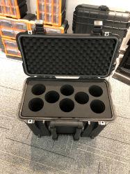 새로운 플라스틱 방수 트롤리 연장통에 의하여 선회되는 포도주 상자