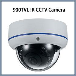 900TVL antivandálico IR CMOS domo con lente fija de la cámara de seguridad CCTV