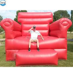 Commerce de gros 3,5X3X2.5m canapé salon de l'air gonflables géants pour la publicité et de la partie événement