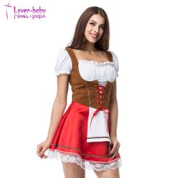 Womens Halloween sexy robe Dirndl allemand L1219