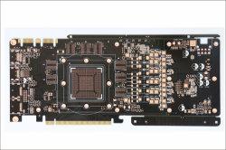 8layer de impedantie Gecontroleerde Gouden VGA van de Vinger Raad van PCB van de Kaart/Kring Board/PCB