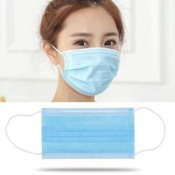 Los productos de suministros médicos fabricante de China en Malasia Earloop 3 Capas desechables Non-Woven protectora de los niños Medical mascarilla quirúrgica