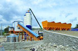 Máquina de construção da fábrica de criação de lote de mistura de betão de cimento