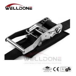 ステンレス鋼316のSS304ラチェットがストラップのとの打を結ぶ50mmはパッドを保護する