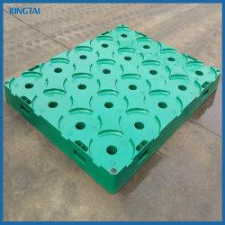 منصة زجاجات مياه بلاستيكية عالية الجودة وبلاستيكية ذات سطح واحد ذات سطح واحد