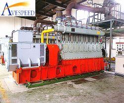 Generator-Set des Erdgas-700kw/des Biogas-/Aufschüttung-Gases mit leisem Kabinendach