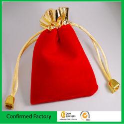 Sachets de bijoux Gold Top des sacs de velours