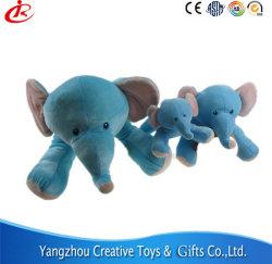 Синие Мягкие плюшевые игрушки малыша игрушка слон