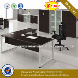 Un style simple table Châssis en acier métallique Manager Office Desk (HX-NT3277)