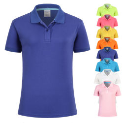 Cheap Wholesale polo chemises polo Tshirt vierge uniforme unisexe