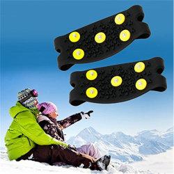 5 Segurança os pernos de protecção para sapatos de neve antiderrapagem Escalada no Gelo Grampos fábrica OEM