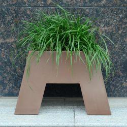 Pot de fleur de métal pour l'hôtel Jardin Décoration/semoir/pot de fleur&le semoir